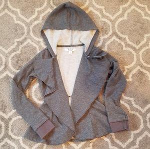DKNY hooded cardigan